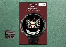 Royale Classic Car Badge & Bar Clip CITY of LONDON Mod Lambretta Vespa B1.1129