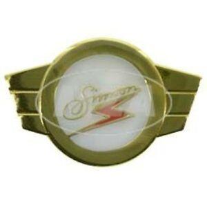 Warenzeichen PIN SIMSON Kleinkrafträder Plakette GOLD Hochwertige Verarbeitung