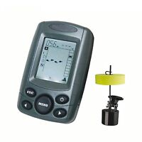 Ff-001 Deeper Sonar Fish Finder 240ft Depth Alarm Fishing Device Lcd Display Uk