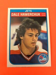 Dale-Hawerchuk-1982-83-O-Pee-Chee-Rookie-Hockey-Card-380-Wow-See-Photos