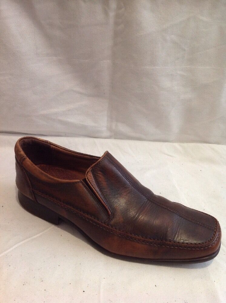 Men's Next Brown Leather shoes Size 8