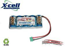 Leistungs Empfängerakku X-Cel SCR 6V4500 mAh mit MPX Buchse oder ...