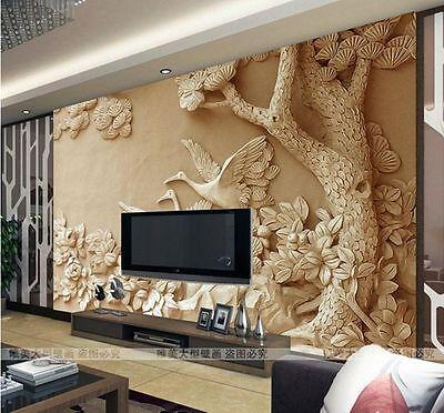3D Wallpaper Bedroom Mural Roll Modern Luxury Embossed Background BJ031