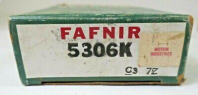 Fafnir 5206K Double Row Angular Contact Ball Bearing