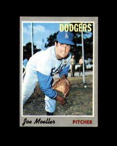 Joe Moeller Hand Signed 1970 Topps Los Angeles Dodgers Autograph