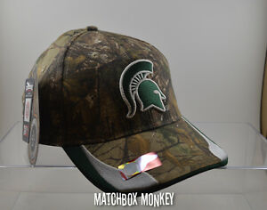 fc5135613ce Image is loading Michigan-State-MSU-Spartans-Sparty-Baseball-Hat-Ball-