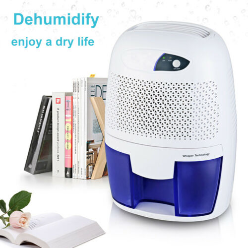Quietly Extracts Moisture Small Smart Dehumidifier with Auto Shut-Off