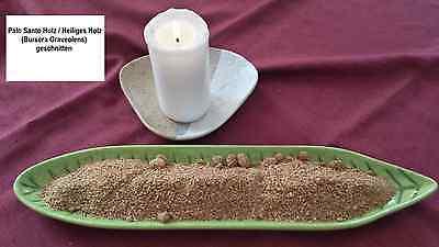 50g / 100g Palo Santo Holz geschnitten Heiliges Holz Bursera Graveolens Palosant