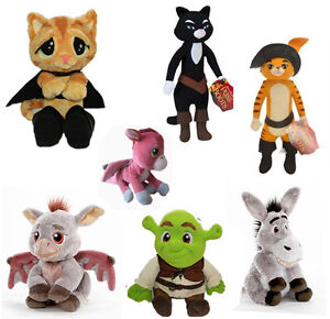 Shrek series Puss In Boots Kitty Soft Paws Plush Character ...