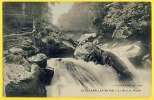 cpa 38 - ALLEVARD Les BAINS (Isère) Le Bout du Monde Torrent le Breda Cascade