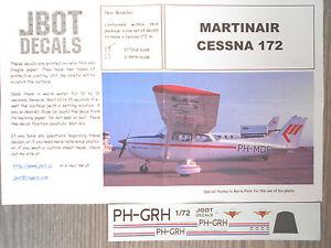 CESSNA 72 DECALS RARE JBOT MARTINAIR 172 1 6Arqw6xHnY