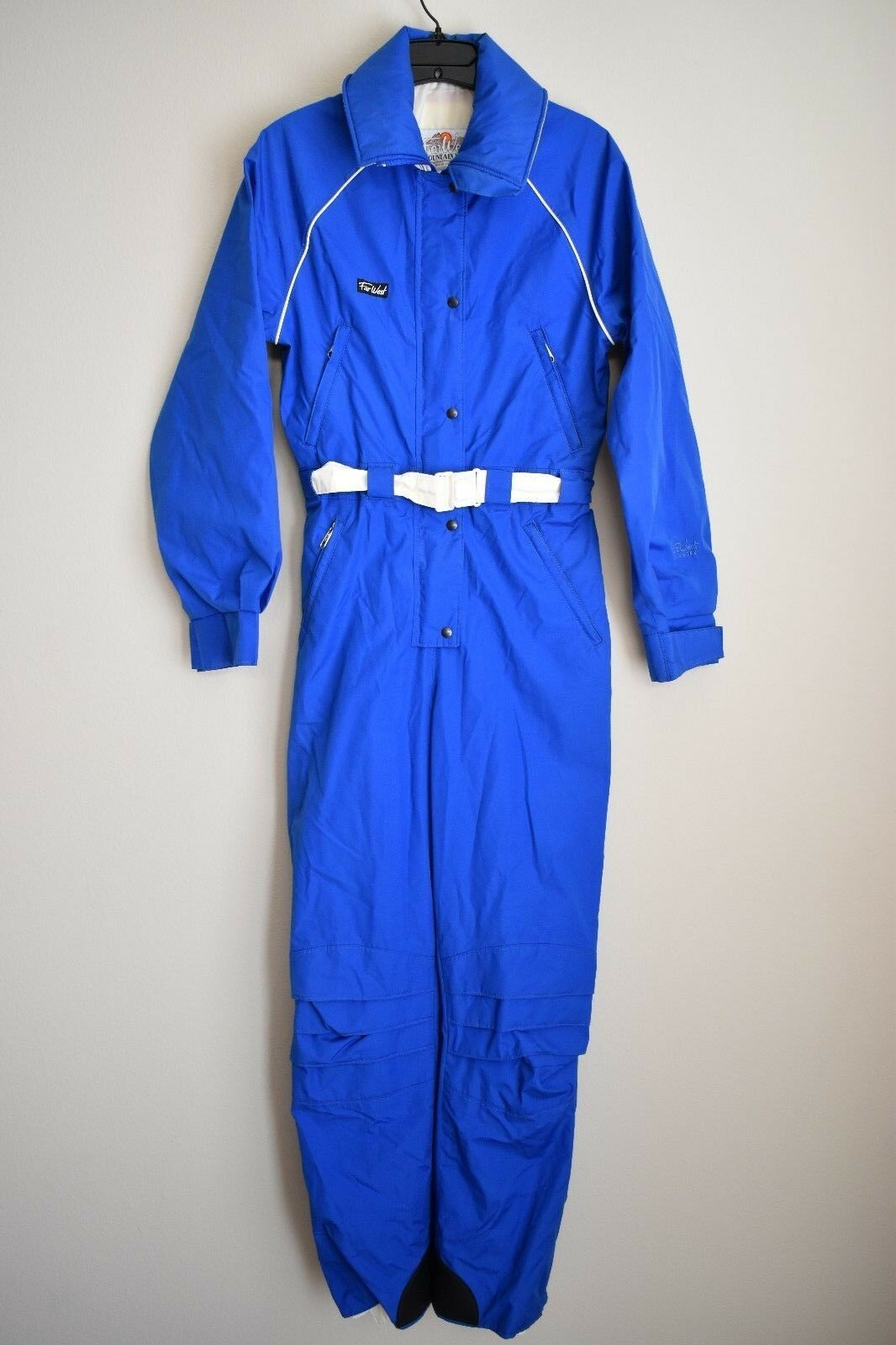 VINTAGE WOMENS  FAR WEST GORE-TEX SKI SUIT SNOWSUIT NYLON NON-INSULATED SZ SMALL  shop makes buying and selling
