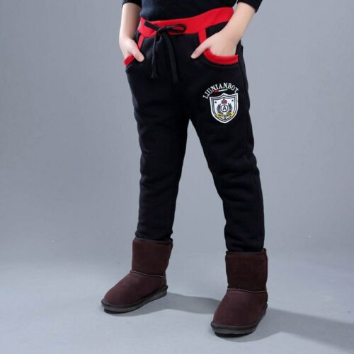New 2019 Children Clothing Boys Winter Pants With Fleece Warm Long Trousers For