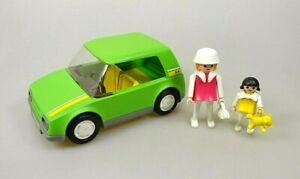 Playmobil-Car-Auto-mit-Figuren-aus-Spielset-3211-80er-Vintage-RAR