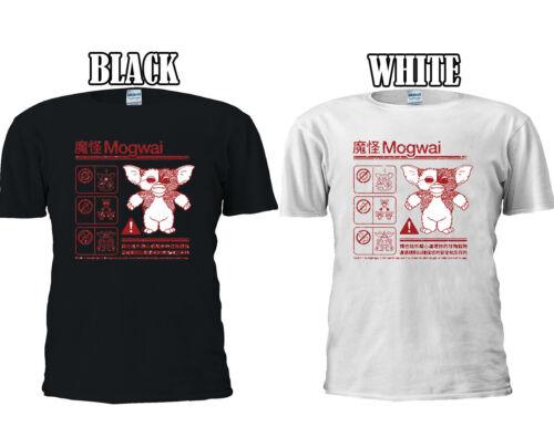 Gremlins Mogwai instructions de sécurité T-shirt Baseball Débardeur Hommes Femmes Unisexe 2669