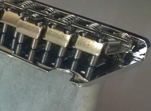 steel saddles Full Size block Stratocaster 2 point Strat style Tremolo Bridge