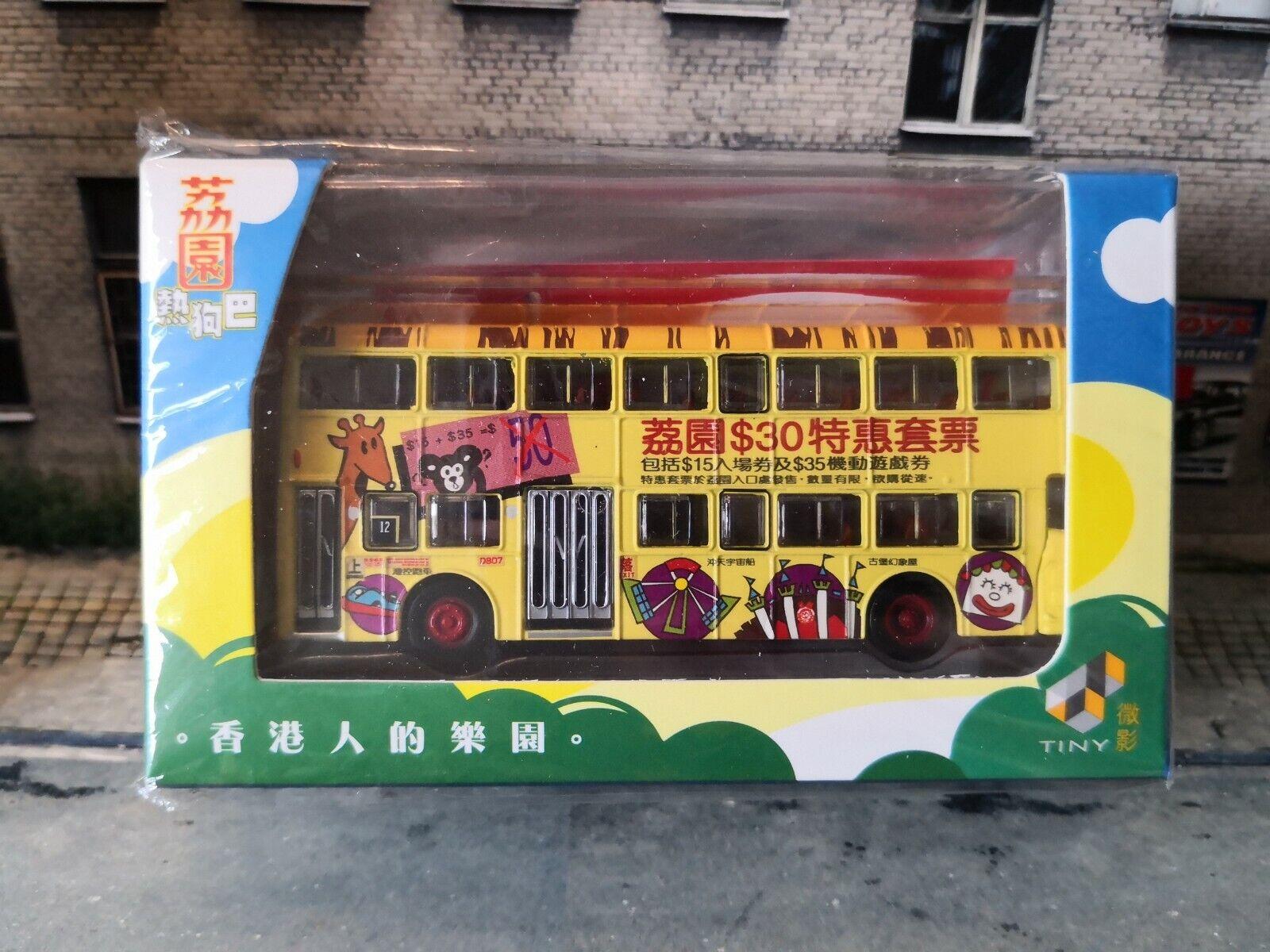HONG KONG CITY NEW 1//110 22 TINY 142 CMB DAIMLER Fleetline DMS Robotcop Bus