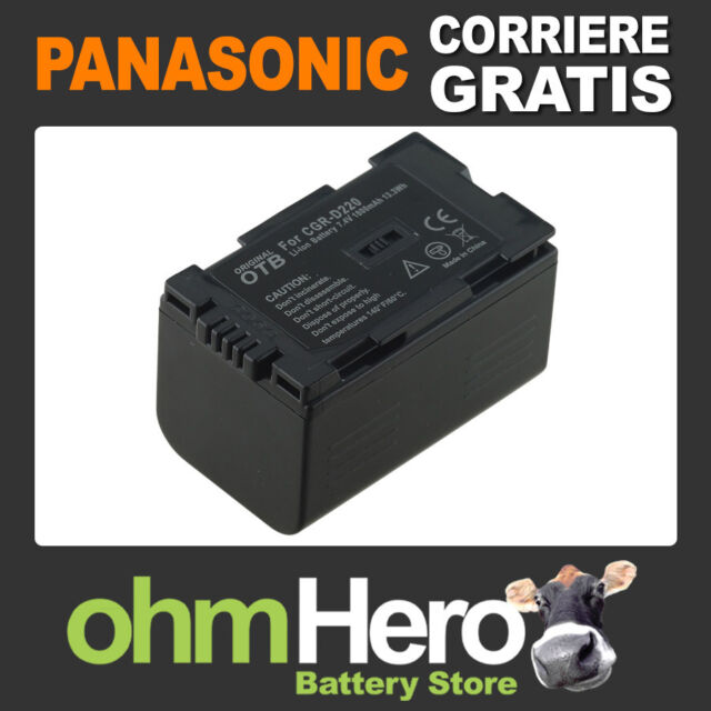 Batteria Hi-Quality per Panasonic NV-DS65