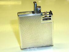 VINTAGE FIRST (HERMANN E. DROLLINGER) POCKET LIGHTER W. 935 SILVER CASE- GERMANY