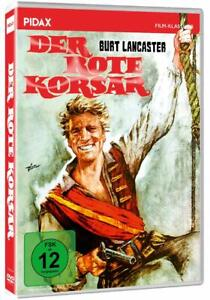 Il rosso Korsar [DVD/Nuovo/Scatola Originale] pirati avventura con Burt Lancaster, Nick Cravat,