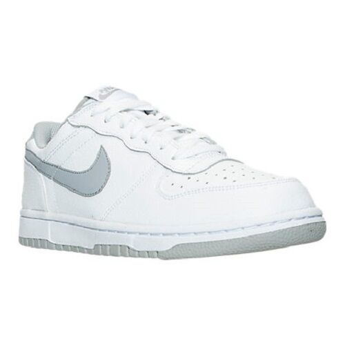 Men's Nike Big 355152 Nike Low Casual Shoes, 355152 Big 106 Sizes 8-12  White/Wolf Grey d5b38c