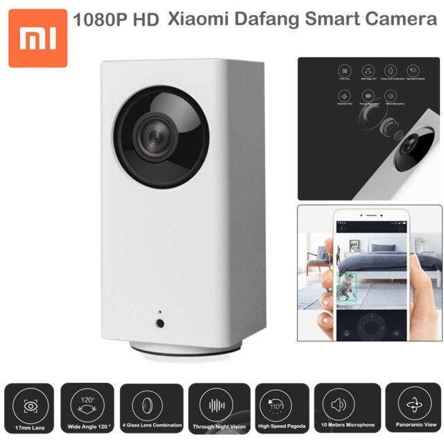Xiaomi Dafang 1080P 360° Panoramic Wireless Wifi IR Night Vision IP Smart Camera