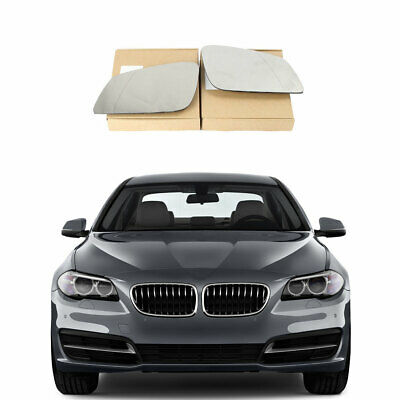 Left Wide Angle Heated Electric Wing Mirror Glass for MINI COOPER BMW 2007 on