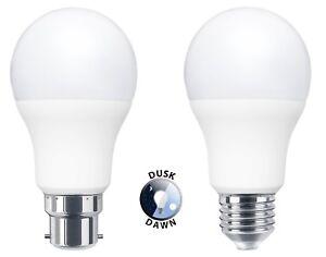 Dusk-Till-Dawn-Sensor-9W-LED-Light-Bulb-B22-or-E27-A60-Security-Light-Bulbs