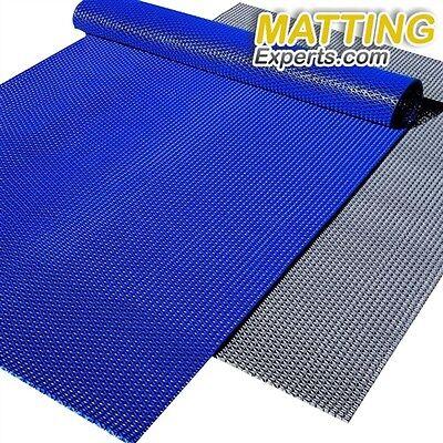 VinGrate Mat Wet Area Floor Matting for Swimming Pool Shower//Locker Room Bathroom Sauna SPA 4-Way Water Drain Indoor//Outdoor Use 3//8 Thick Non-Slip Comfortable on Barefoot 2 x 4, Gray, 1