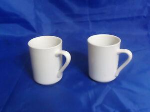 2-Delco-Ceramicor-Restaurant-Grade-Porcelain-Concord-Mugs-8-75-Oz-26-L