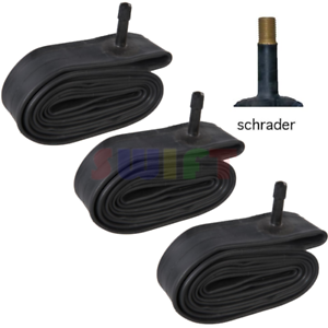"""3 x 26/"""" inch Inner Bike Tube 26 x 1.75-2.125 Bicycle Rubber Tire Interior BMX"""