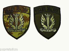 Patch Fucilieri dell'Aria Aeronautica Militare Toppa Mimetica Vegetata o Verde