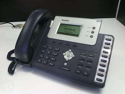100% Vero Yealink Sip-t26p Telefono Voip-poe - 6 Mesi Di Garanzia-iva Inclusa E La Consegna-