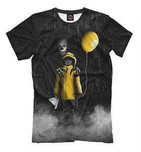 Original It Wants You To Float T-shirt Movie Fun Horror Clown Pennywise Stephen It King Be Friendly In Use T-shirts