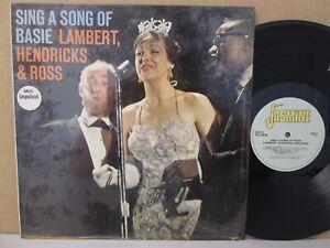 Lambert-Hendricks-amp-and-Ross-Sing-a-Song-of-Count-Basie-LP-UK-Vinyl-EX-1957