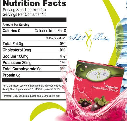 water supplement ideal protein diet