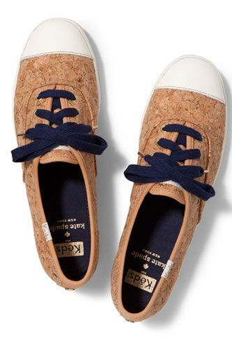 Kate Spade New York Champion Cork Keds sneakers sz 10 shoes