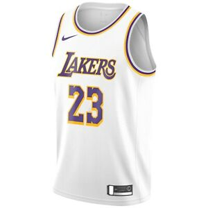 2021 NBA Nike Los Angeles Lakers LeBron James Association Swingman ...