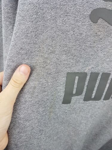 Grigio Vgc Puma Retro Vtg Uk Athletic Overhead Mens Jumper Sports Felpa L qEFwwaz