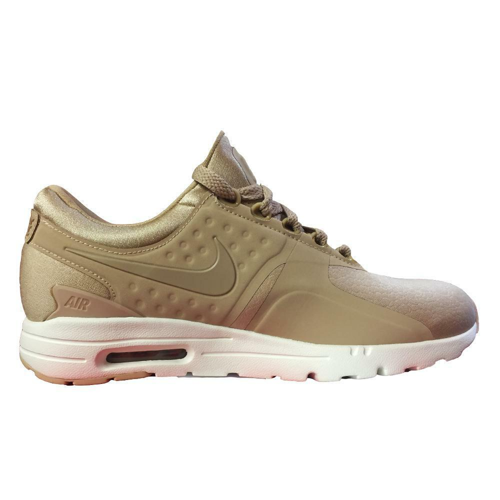Womens NIKE AIR MAX ZERO PRM Linen Trainers 903837 200