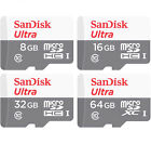 SanDisk Class 10 micro SD HC 8GB 16GB 32GB micro SDXC 64GB Ultra Memory Card Lot