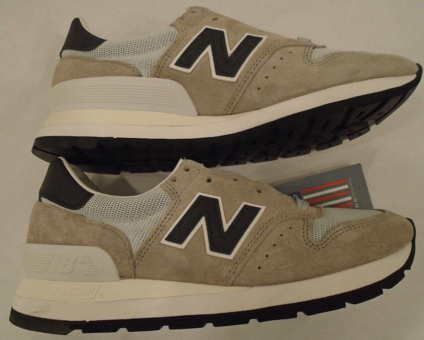 NEW NB New Balance Mens 5.5 Womens 7 Suede 995 Classic Shoes M995CHA Made in USA