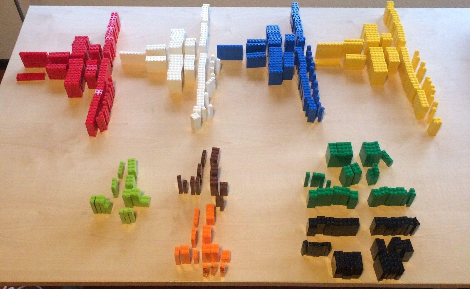 LEGO Steine Basis ca. 1790 gemischte Basis Steine Bausteine