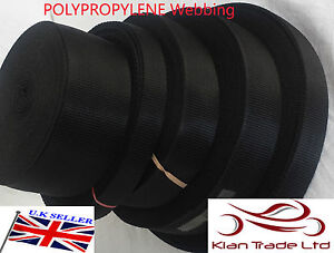 WEAVE STRAPS BAGS WHITE 20 25 32 38 50mm POLYPROPYLENE WEBBING STRAPPING
