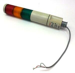 federal signal microstat stacklight tower light msl3. Black Bedroom Furniture Sets. Home Design Ideas