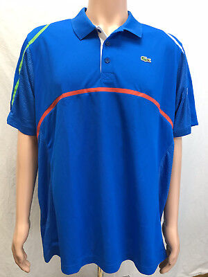 NWT Lacoste Sports Men/'s Andy Roddick Ultra Dry Fit Tennis Polo DH7671 Size 2-9