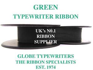 SMITH CORONA CALYPSO *GREEN* TOP QUALITY TYPEWRITER RIBBON REWIND+INSTRUCTIONS* 6NYUpGME-09153214-709225041