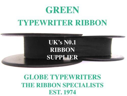 1 x OLYMPIA SPLENDID 33//66//99 *GREEN* TOP QUALITY TYPEWRITER RIBBON