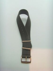 Kerbholz Original Spare Band Leather Wrist Band WILMA Braun Natostrap 0 23/32in