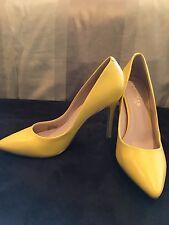 Yellow high heels Charles David size 7